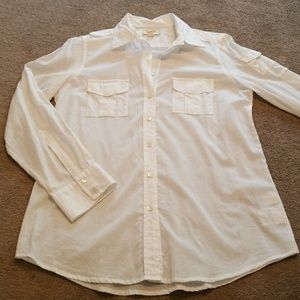 Land's End Sheer Cotton Shirt